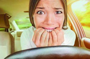 страх вождения машины